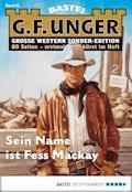 G. F. Unger Sonder-Edition 62 - Western - G. F. Unger - E-Book