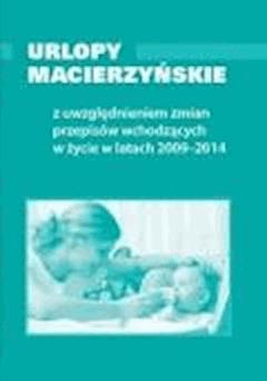 Urlopy macierzyńskie  - ebook