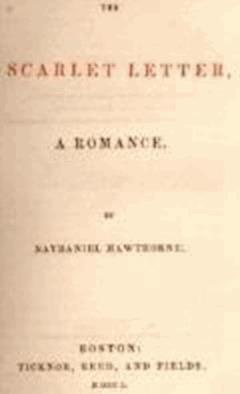 La Lettre écarlate - Nathaniel Hawthorne - ebook