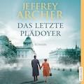 Das letzte Plädoyer - Jeffrey Archer - Hörbüch