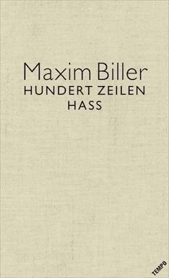 100 Zeilen Hass Maxim Biller E Book Legimi Online