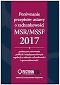 Porównanie przepisów ustawy o rachunkowości i MSR/MSSF 2017 - dr Katarzyna Trzpioła, Grzegorz Magdziarz - ebook