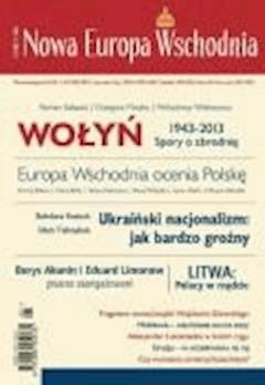 Nowa Europa Wschodnia 1/2013 - Opracowanie zbiorowe - ebook