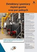 Detektory i pomiary stężeń gazów oraz par palnych - Opracowanie zbiorowe - ebook
