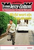 Jerry Cotton - Folge 2848 - Jerry Cotton - E-Book