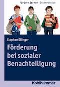 Förderung bei sozialer Benachteiligung - Stephan Ellinger - E-Book