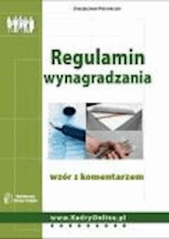 Regulamin wynagradzania - wzór z komentarzem  - Bożena Lenart - ebook