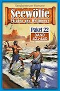 Seewölfe Paket 22 - Roy Palmer - E-Book