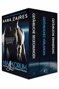 Mia & Korum (Die komplette Krinar Chroniken Trilogie) - Anna Zaires - E-Book