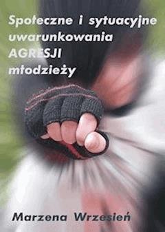 Społeczne i sytuacyjne uwarunkowania agresji młodzieży - Marzena Wrzesień - ebook