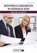 Kontrola zarządcza w oświacie 2018. Wykaz zmian w 19 obszarach - Dariusz Skrzyński - ebook