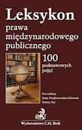 Leksykon prawa międzynarodowego publicznego 100 podstawowych pojęć - Anna Przyborowska-Klimczak, Dorota Pyć - ebook