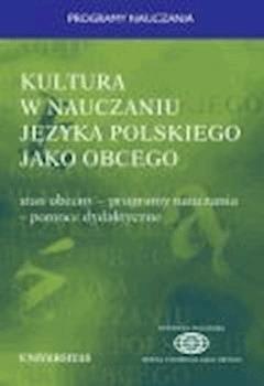 Kultura w nauczaniu języka polskiego jako obcego - Władysław T. Miodunka - ebook