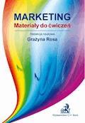 Marketing Materiały do ćwiczeń - Grażyna Rosa - ebook