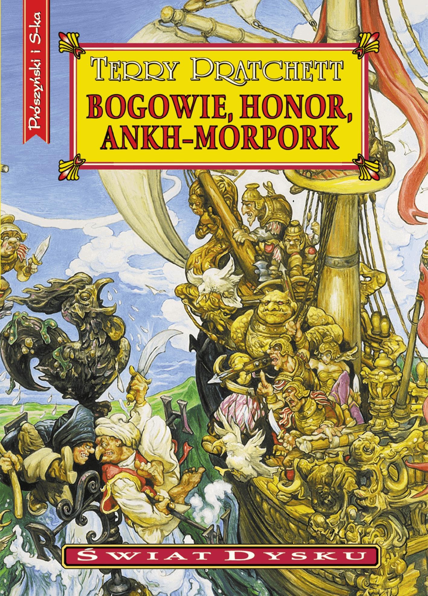 Bogowie,honor,Ankh-Morpork - Tylko w Legimi możesz przeczytać ten tytuł przez 7 dni za darmo. - Terry Pratchett