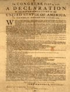 Declaration of Independence - Thomas Jefferson - ebook