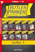 Butler Parker Staffel 1 - Kriminalroman - Günter Dönges - E-Book