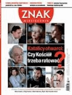 Miesięcznik Znak. Październik 2012 - Opracowanie zbiorowe - ebook