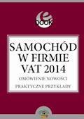 Samochód w firmie VAT 2014 - Kuciński Rafał - ebook