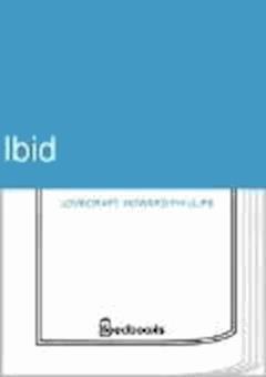 Ibid - Howard Phillips Lovecraft - ebook