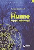 David Hume. Krytyka episteologii - Tomasz Sieczkowski - ebook