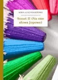 Sonet II (Na one słowa Jopowe) - Sęp Szarzyński, Mikołaj - ebook
