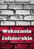Wskazania żołnierskie - Wacław Sieroszewski - ebook