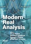 Modern Real Analysis - Jacek Hejduk, Stanisław Kowalczyk, Ryszard J. Pawlak - ebook