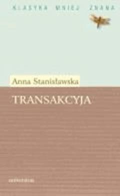 Transakcyja - Anna Stanisławska - ebook