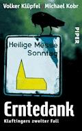 Erntedank - Volker Klüpfel - E-Book