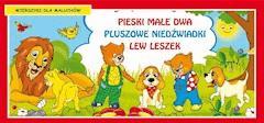 Pieski małe dwa. Pluszowe niedźwiadki. Lew Leszek. Wierszyki dla maluchów - Opracowanie zbiorowe - ebook