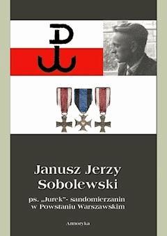 """Janusz Jerzy Sobolewski  ps. """"Jurek""""- sandomierzanin  w Powstaniu Warszawskim - Piotr Sobolewski, Irena Zdyb - ebook"""