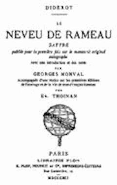 Le Neveu de Rameau - Denis Diderot - ebook