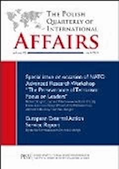 The Polish Quarterly of International Affairs 1_2013 - Marcin Zaborowski - editor - ebook