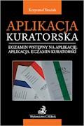 Aplikacja kuratorska. Egzamin wstępny na aplikację. Aplikacja. Egzamin kuratorski - Krzysztof Stasiak - ebook