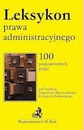 Leksykon prawa administracyjnego - Eugeniusz Bojanowski, Krzysztof Żukowski - ebook