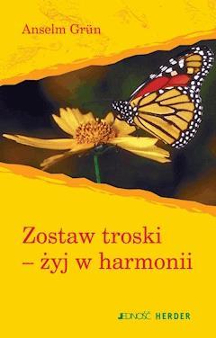 Zostaw troski-żyj w harmonii - Anselm Grün - ebook