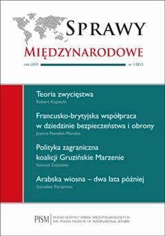 Sprawy Międzynarodowe 1_2013 - prof. Henryk Szlajfer - ebook