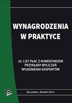 Wynagrodzenia w praktyce - Renata Kajewska - ebook