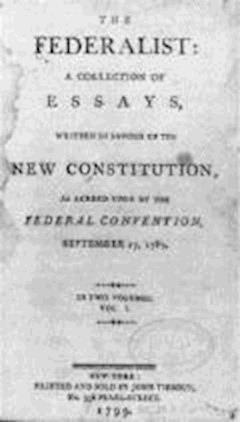The Federalist Papers - Publius - ebook