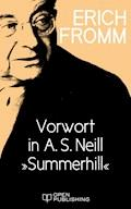 """Vorwort in A. S. Neill """"Summerhill"""" - Erich Fromm - E-Book"""