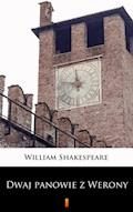 Dwaj panowie z Werony - William Shakespeare - ebook