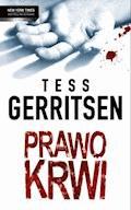 Prawo krwi - Tess Gerritsen - ebook