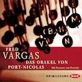 Das Orakel von Port-Nicolas - Fred Vargas - Hörbüch