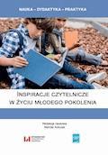 Inspiracje czytelnicze w życiu młodego pokolenia - Mariola Antczak - ebook