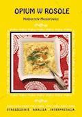 Opium w rosole Małgorzaty Musierowicz. Streszczenie, analiza, interpretacja - Danuta Anusiak - ebook