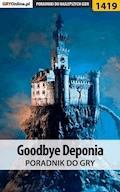 """Goodbye Deponia - poradnik do gry - Daniela """"sybi"""" Nowopolska - ebook"""