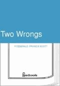 Two Wrongs - Francis Scott Fitzgerald - ebook