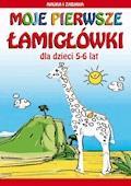 Moje pierwsze łamigłówki. Dla dzieci 5-6 lat. Nauka i zabawa - Beata Guzowska, Krzysztof Tonder - ebook