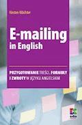 E-mailing in English - Kirsten Wächter - ebook